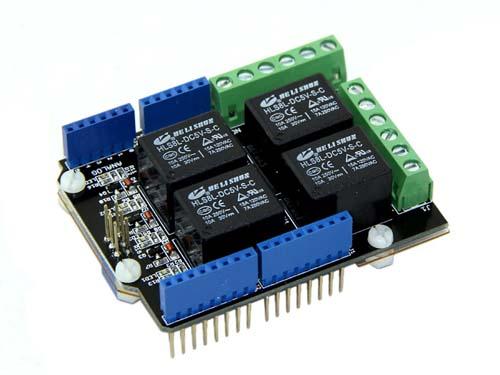 Модули расширения для контроллеров Relay Shield V2.0
