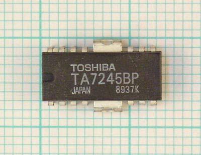 Мультимедиа преобразователь TA7245BP