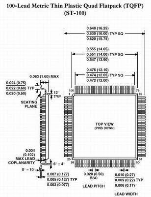ПЛИС EPM3128ATC100-10