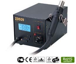 Термовоздушная паяльная станция ZD-939L станция цифровая паяльная