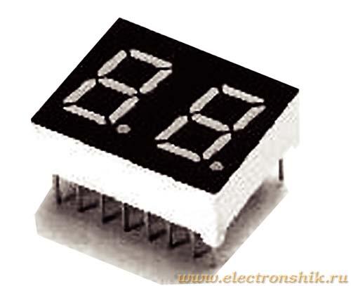 LED индикатор DA04-11SRWA