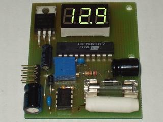 автоматическое зарядное устройство на микроконтроллере