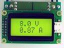EK-7208N-Module - Встраиваемый вольтметр + амперметр постоянного тока.