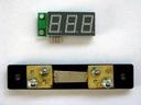Миниатюрный цифровой встраиваемый амперметр (до 50А) постоянного тока