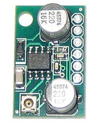 EK-SAS0022-200 - Миниатюрный одноканальный усилитель НЧ 0.6Вт, усиление 200