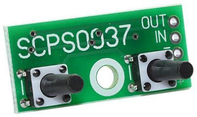 EK-SCPS0037-48V-0.2. Кнопочный контроллер импульсного стабилизатора напряжения с памятью. U=2,4...48 В, шаг 0,2 В (±3 %)