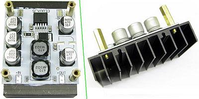 SCV0033-3.3V-5A-R - Импульсный стабилизатор напряжения 3,3 В, 5 А