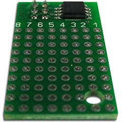 EK-SEM0016M-45V Модуль серии Evolution light на базе микроконтроллера ATTINY45V-10SU.