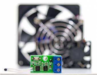 Термостат - контроллер управления кулером охлаждения
