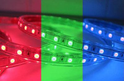 Светодиодная лента RGB с питанием от 220 V 5050