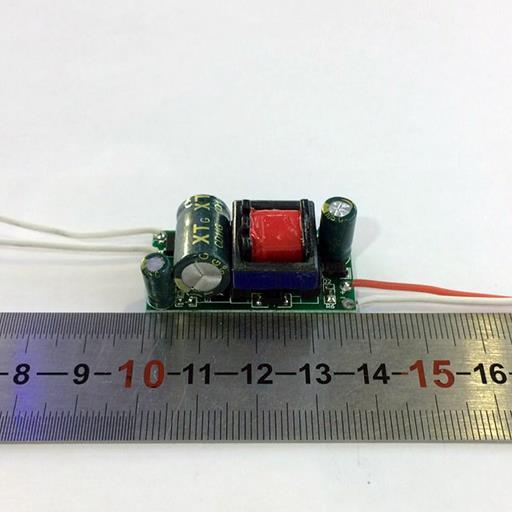 Драйвер для светодиодов AC220V  700 mA (600mA) 15W (1-53W) IP20 без корпуса