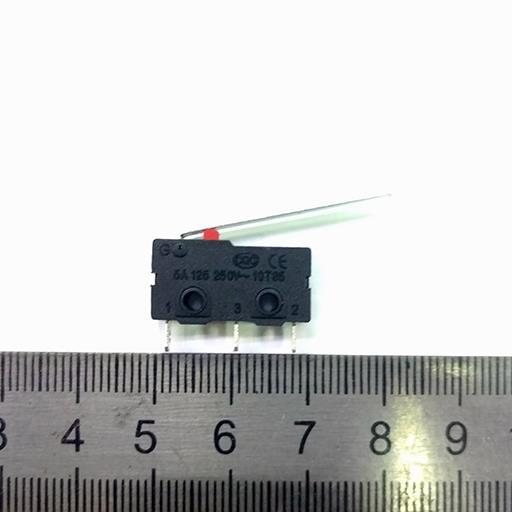 Переключатель mini MWO 3pin 5A 250V  концевик 28мм   N02