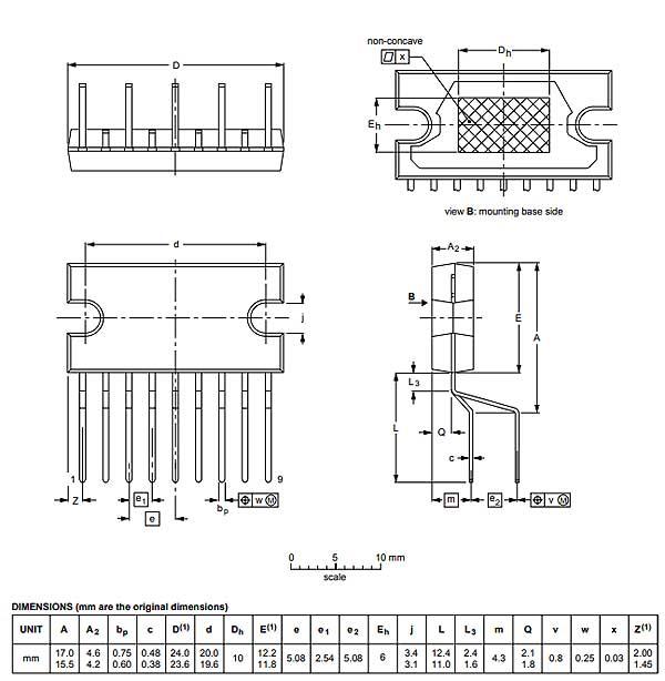 Мультимедиа преобразователь TDA3654Q/N3