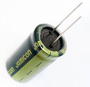 Конденсатор электролитический 2200 мкФ 16 Вольт Low ESR (компьют. 105°C)