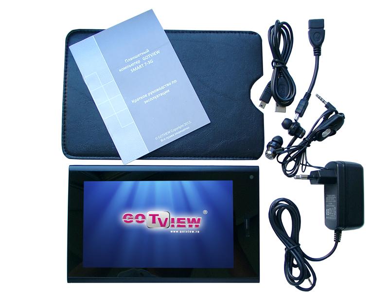 Популярная среди молодежи развивающая игрушка - Планшетный компьютер GOTVIEW SMART 7-3G.
