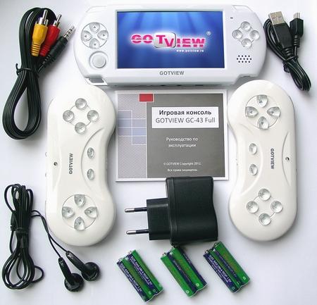 Комплектация игровой консоли GOTVIEW GC-43 Full