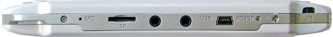 Игровая консоль GOTVIEW GC-43 FULL вид сбоку
