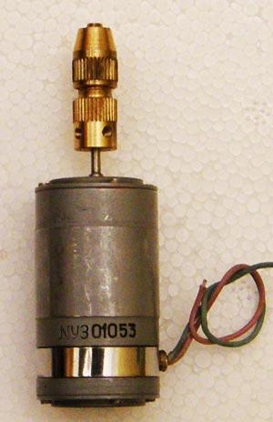 Минидрель МД-0 на основе двигателя ДПМ-25-Н1