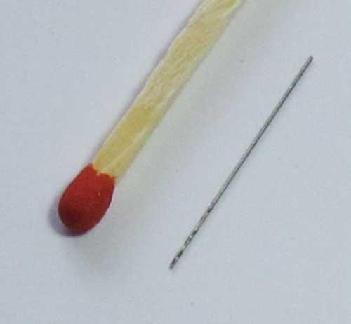 Сверло 0,4 мм