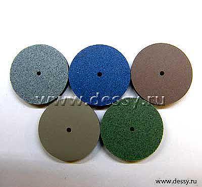 Диски эластичные для шлифовки и полировки. Размер: диаметр 18 х толщина 3,5 мм.