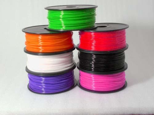 Пластик ABS (АБС) для 3D принтера 3.0 мм. 1000 гр. Красный