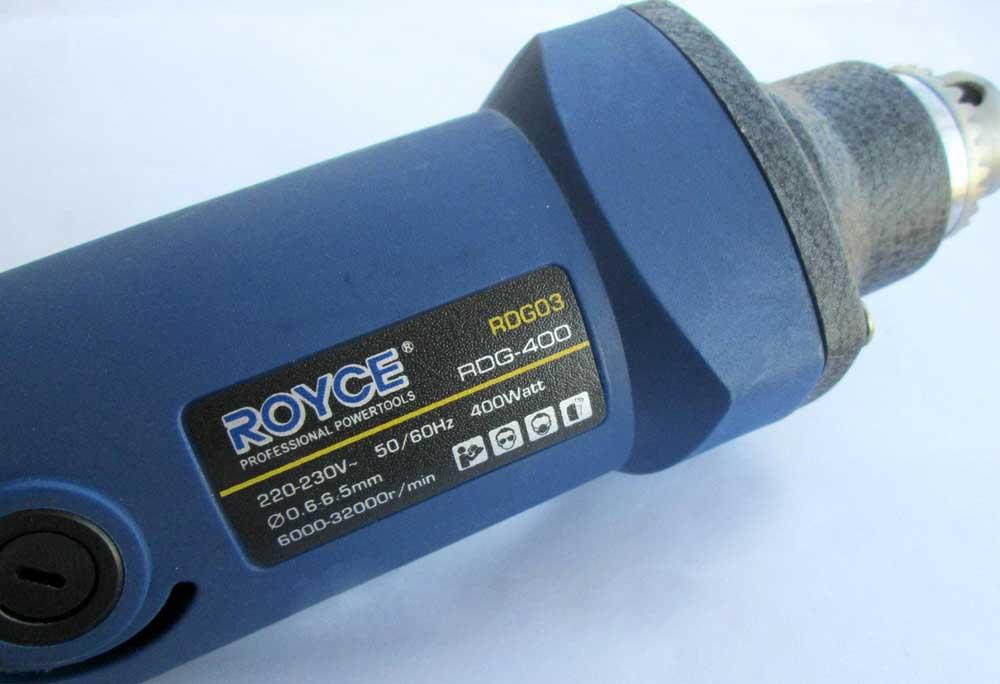 Бормашина ROYCE RDG-400