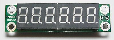 DS018A Цифровая Шкала Трансивера / Частотомер до 50 МГц. Модуль дисплея EM9501.