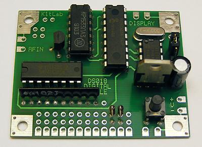 DS018A Цифровая Шкала Трансивера / Частотомер до 50 МГц. Измерительный модуль DS018.