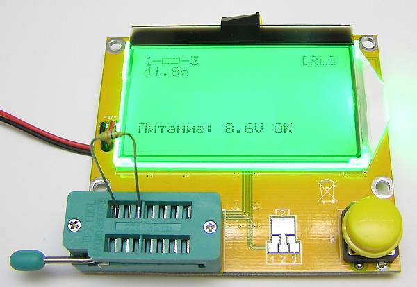 Модуль RI020. Прибор для качественной оценки радиокомпонентов