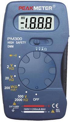 Цифровой мультиметр PM300