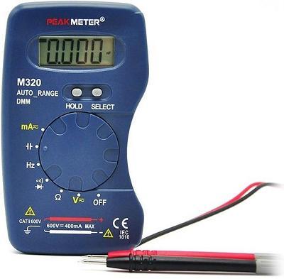 Цифровой мультиметр PM320