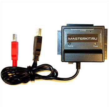 MK050 - Адаптер для подключения  IDE/SATA устройств к ПК