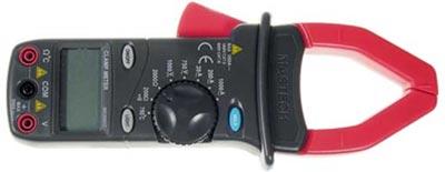 MS2001  клещи токоизмерительные цифровые ACA (ACV/DCV, сопротивление,прозвон)