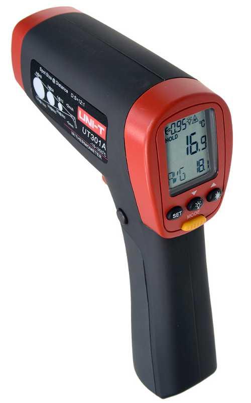 UT301A Инфракрасный термометр (пирометр) -18c/+350c цифровой профессиональный