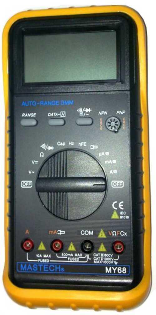 MY68  цифровой автоматический мультиметр