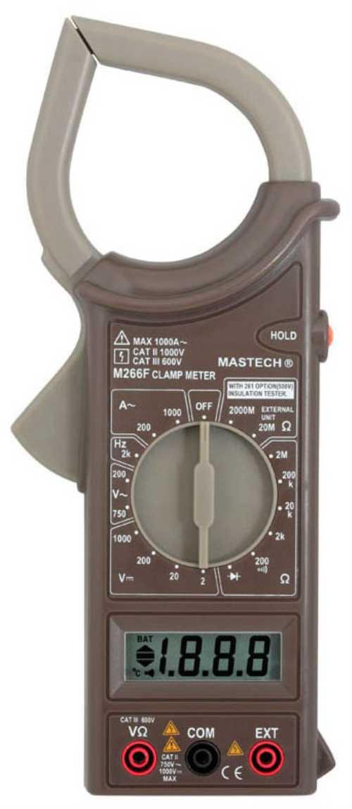 M266C клещи токоизмерительные цифровые (переменный ток)