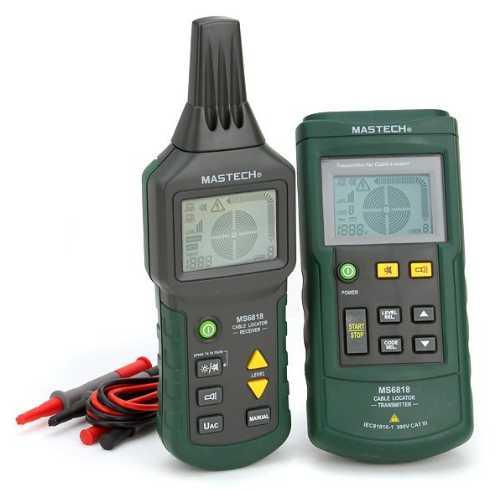 MS6818 кабелеискатель / детектор / тестер многофункциональный