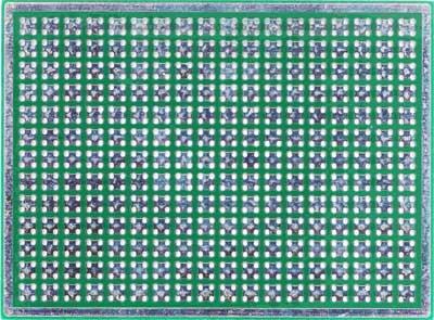 Двусторонняя макетная плата MTR243 (M07) с металлизацией отверстий.