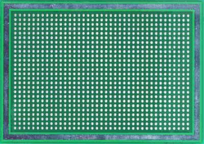 Двусторонняя макетная плата MTR244 (M0) с металлизацией отверстий.