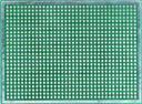 Двусторонняя макетная плата MTR246 (M03) с металлизацией отверстий.
