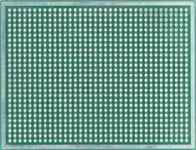 Двусторонняя макетная плата MTR247 (M06) с металлизацией отверстий.