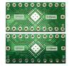 Двусторонняя плата адаптер переходник для микросхем в корпусах QFN20