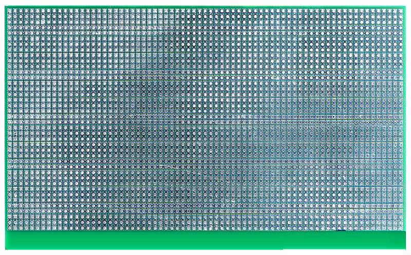 Двусторонняя макетная плата SL7381 с металлизацией отверстий