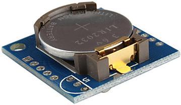 Модуль RC009. Модуль часов реального времени (RTC) на базе микросхемы DS1307 (с батарейкой CR2032)