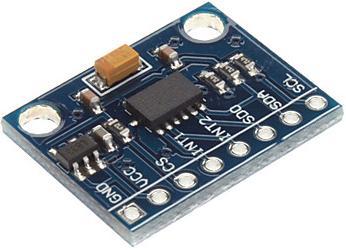 Модуль RA009. Акселерометр на ADXL345