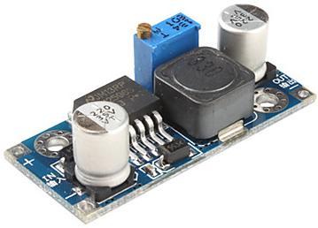 Модуль RP004. Повышающий импульсный DC-DC регулируемый стабилизатор напряжения 3...34 В в 4...35 В (2,5 A) (LM2577)