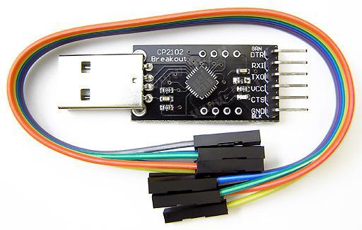 Модуль RC012. Переходник USB в COM-порт TTL/CMOS (RS232) (CP2102-v2.0)