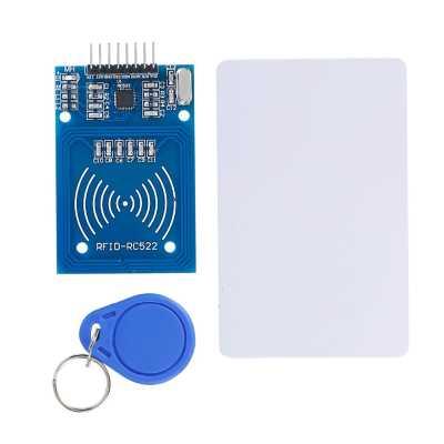 Модуль RA021. Модуль чтения и записи бесконтактных RFID карт 13,56 МГц с пустыми перезаписываемыми картой и брелком