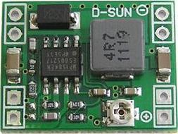 Модуль RP011. Миниатюрный понижающий DC-DC преобразователь напряжения 4,5...28 В в 0,8...20 В (3 А)