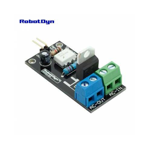 Тиристор AC switch, 3.3V/5V logic, AC/DC, AC 220V110V, /5A